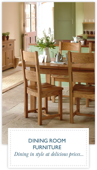 Dining Room Furniture - Dining in style at delicious prices...
