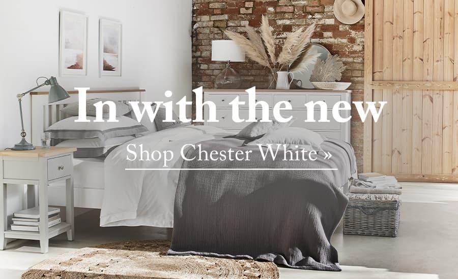 Shop Chester Pure White Furniture