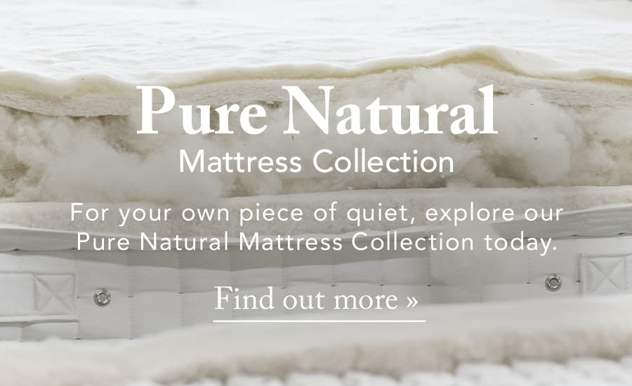 The Pure Natural Mattress Collection