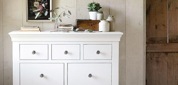 Featured Range - Chantilly White
