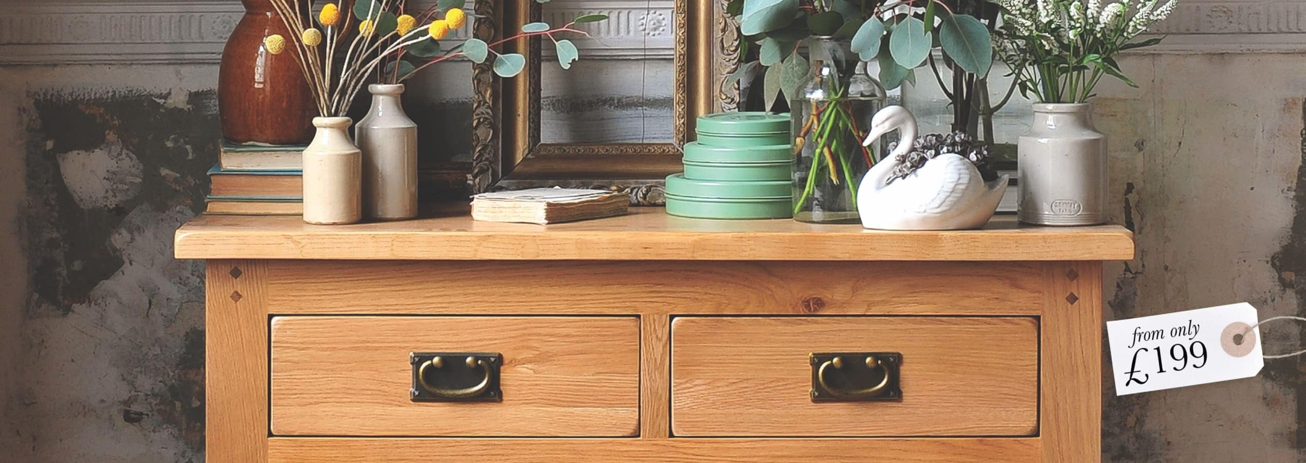 Sturdy Storage - Traditional oak storage solutions you can rely on!